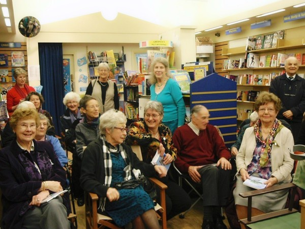 Beckenham Bookshop readers and audience