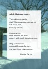 Image: A little Christmas poem cover